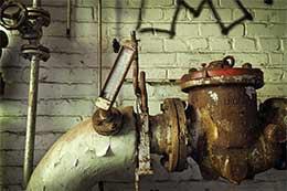 Установка станций и трубопровода