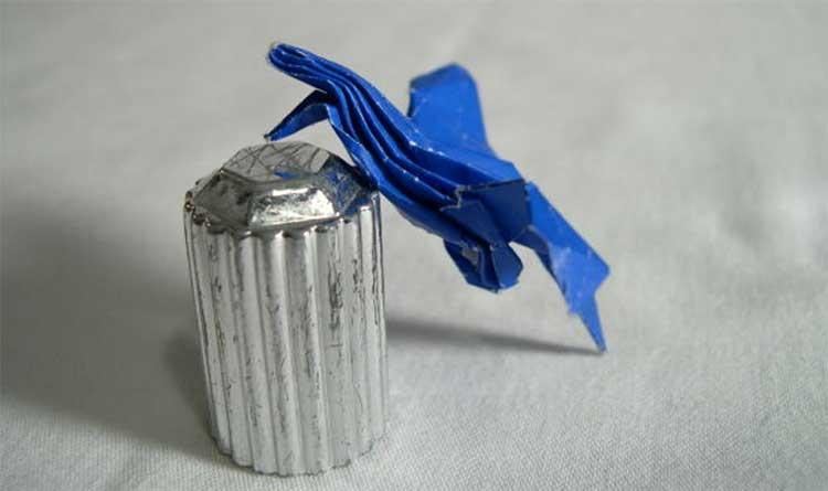 Как правильно украсить бумажный колодец