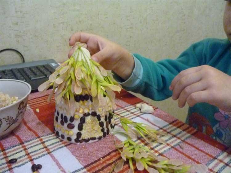 Как сделать фасолиевый колодец собственными руками