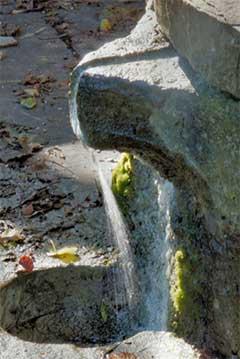 Главной подсказкой для нахождения воды - это картографические показатели