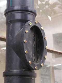 Пластиковые трубы отлично подойдут для монтажа колодца