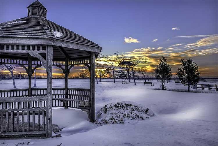 Обустройство зимних сооружений