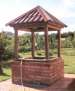 Особенности сливного колодца из бетонных колец